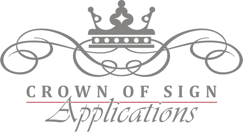 Crown of Sign Applications